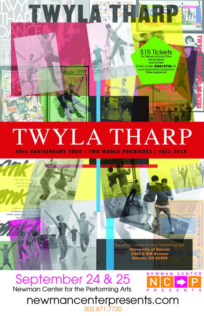 NewmanCenter Performance Twyla Tharp